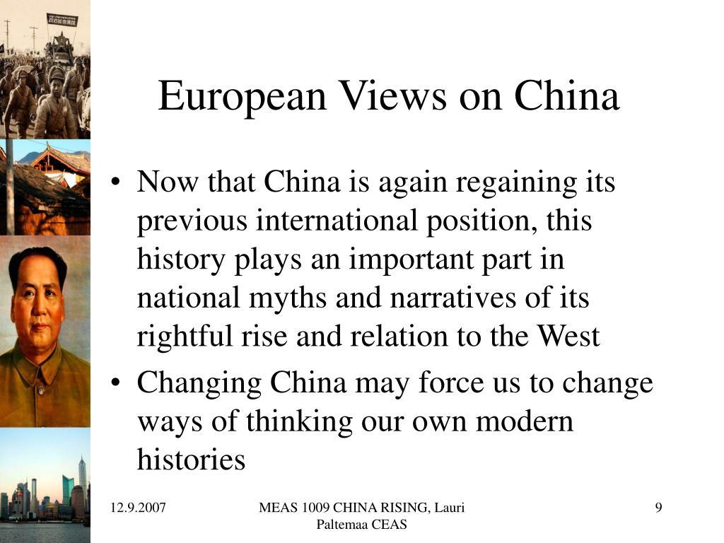 European Views on China