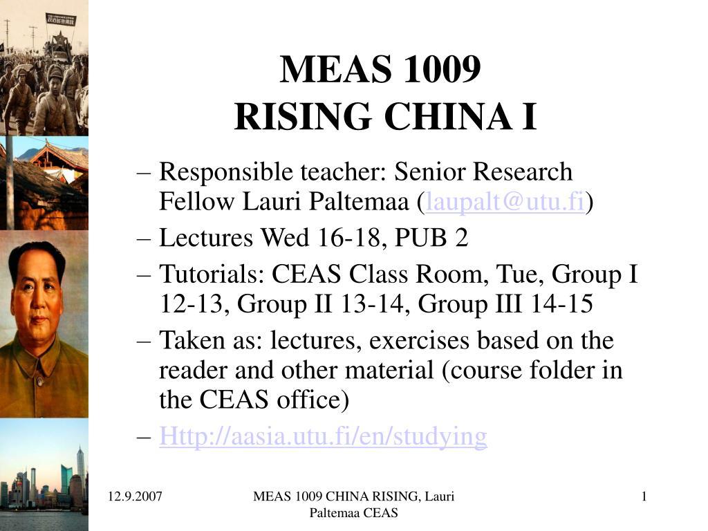 MEAS 1009