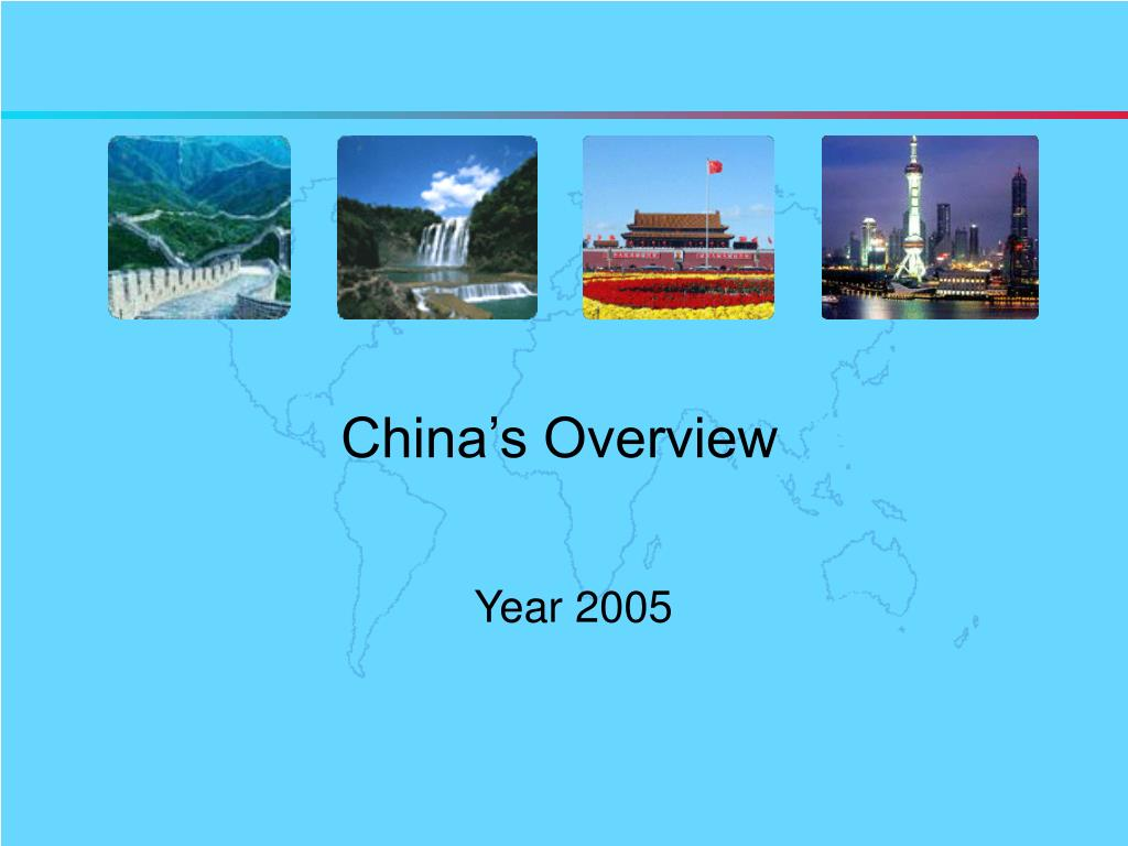 china s overview