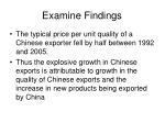 examine findings14