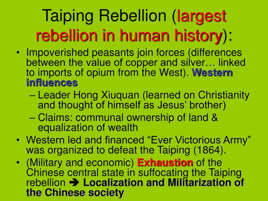 Taiping Rebellion (