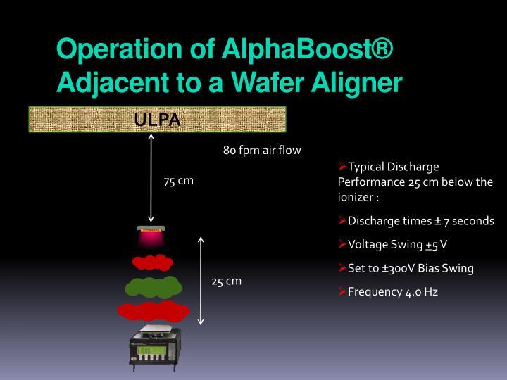 Operation of AlphaBoost® Adjacent to a Wafer Aligner