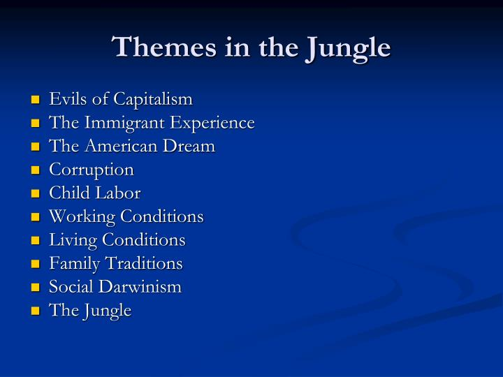Themes in the Jungle