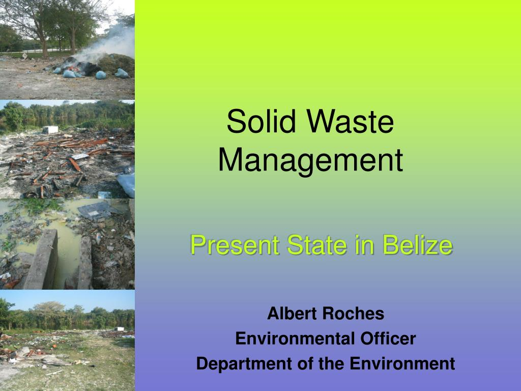 solid waste management l.