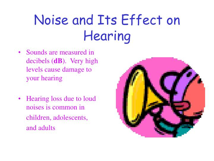 Noise and Its Effect on Hearing