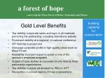 gold level benefits