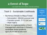 track 2 sustainable livelihoods
