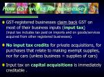 how gst works for businesses