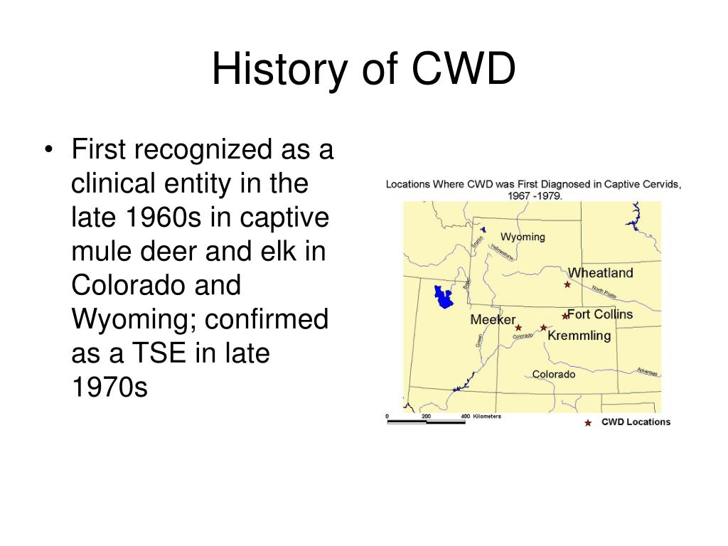 History of CWD