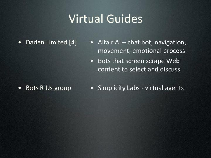 Virtual Guides