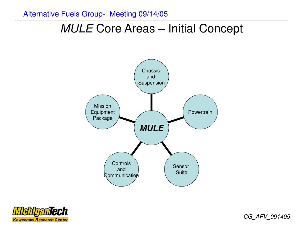 mule core areas initial concept l.