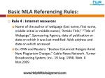 basic mla referencing rules6