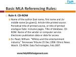 basic mla referencing rules7