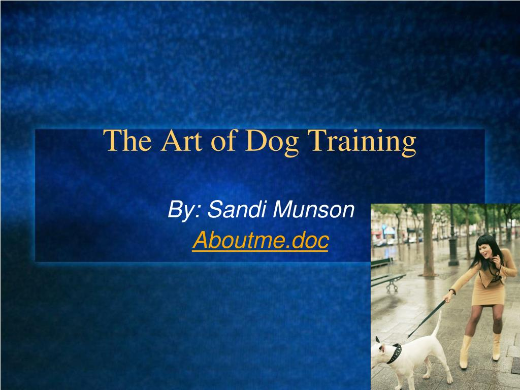 The Art of Dog Training