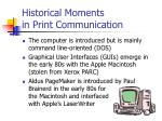 historical moments in print communication2