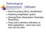 technological environment software