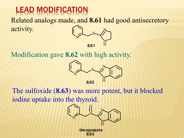 Lead Modification
