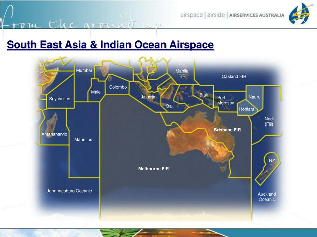 South East Asia & Indian Ocean Airspace