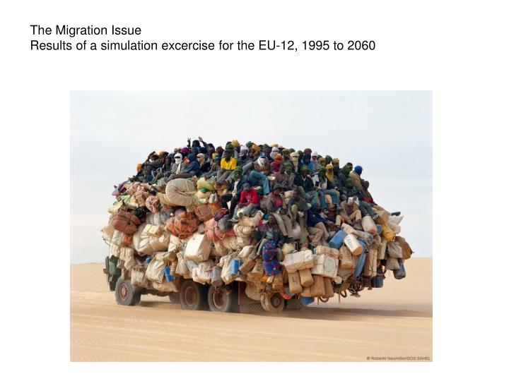 The Migration Issue