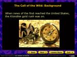the call of the wild background11