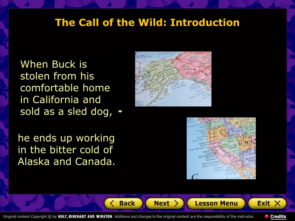 The Call of the Wild: Introduction