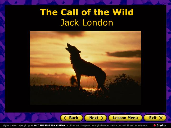 The call of the wild jack london2