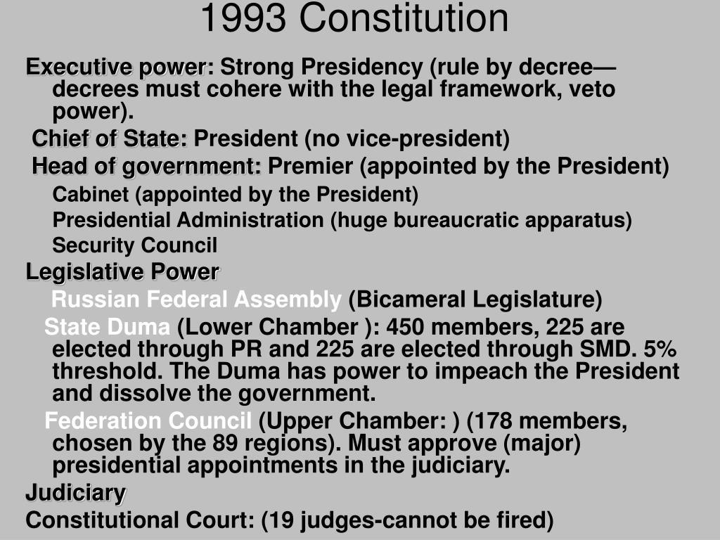 1993 Constitution