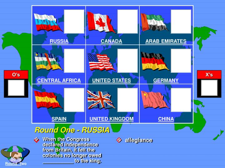 Round one russia