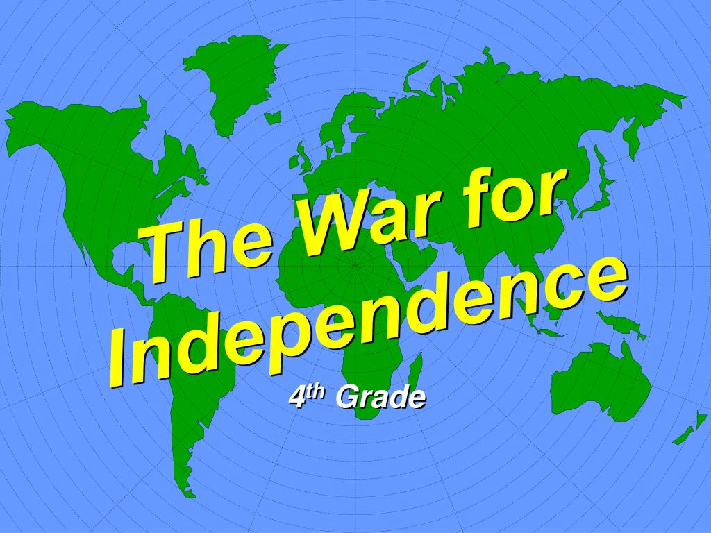 the war for independence l.