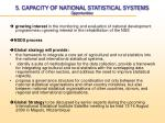 5 capacity of national statistical systems opportunities