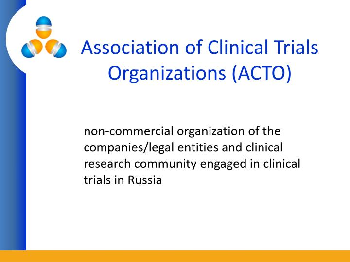 Association of clinical trials organizations acto