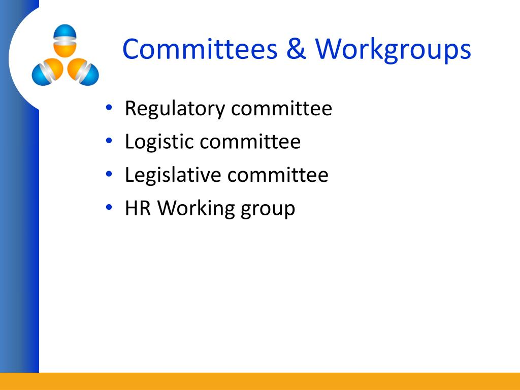Committees & Workgroups