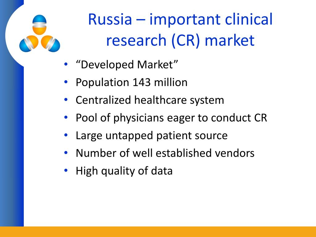 Russia – important clinical research (CR) market