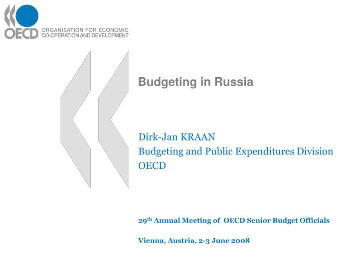 Budgeting in russia