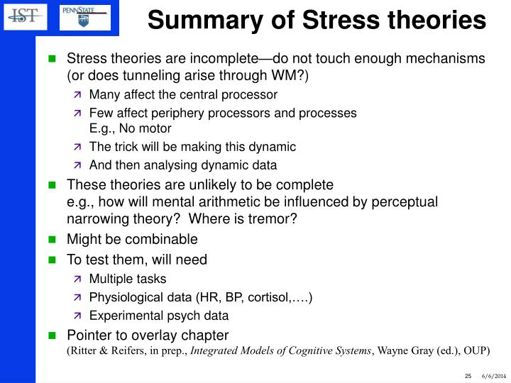 an overview of strain theories Pressured into crime : an overview of general strain theory by agnew, robert  the applicability of strain theory by ethnicity by cynthia perez mccluskey isbn.