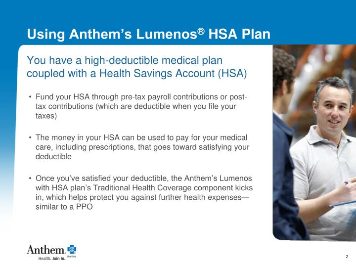 Anthem lumenos hsa ohio