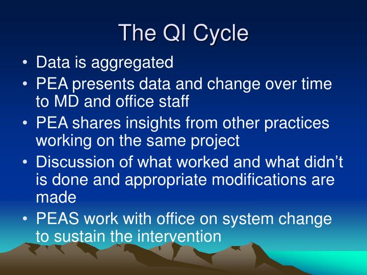 The QI Cycle