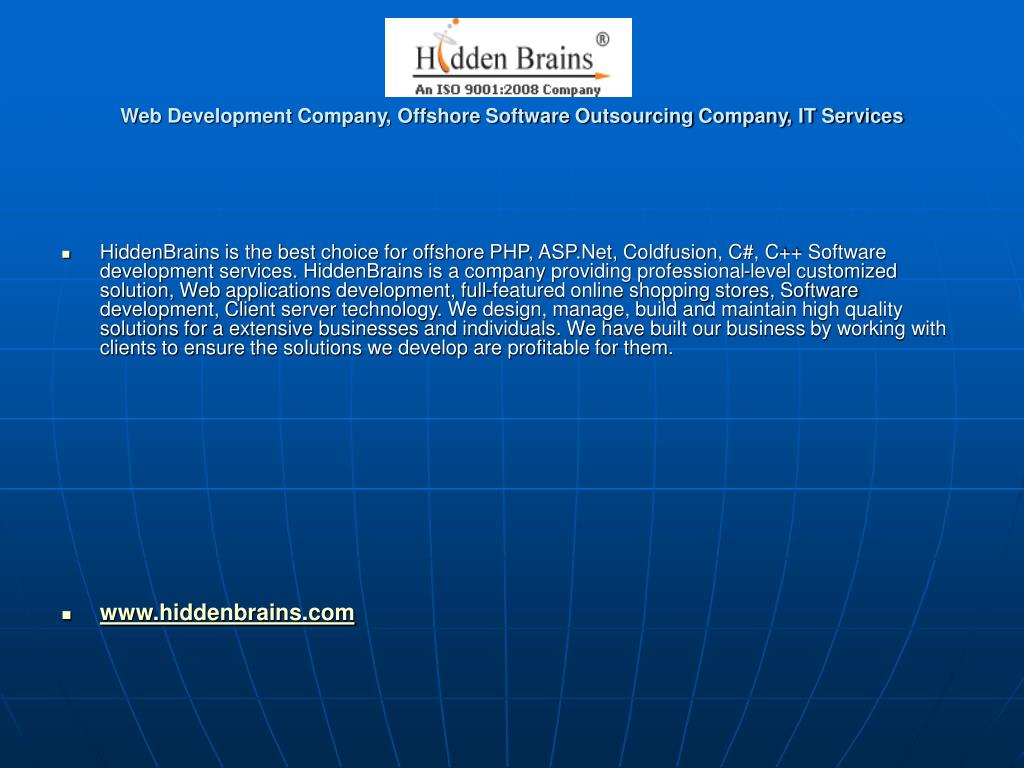 web development company offshore software outsourcing company it services l.