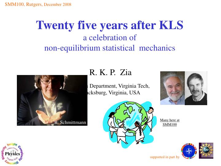twenty five years after kls a celebration of non equilibrium statistical mechanics