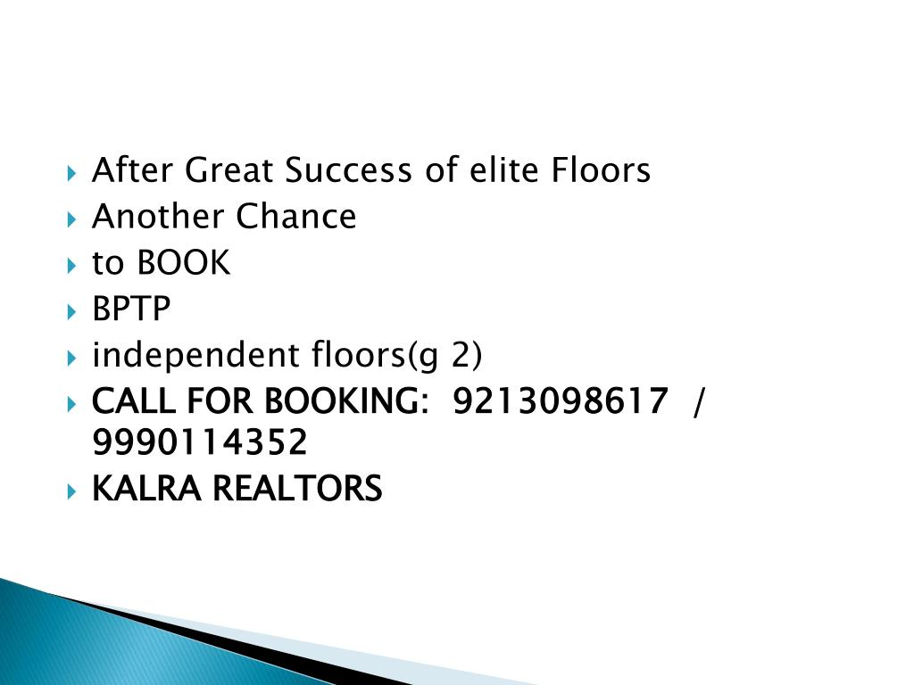 After Great Success of elite Floors
