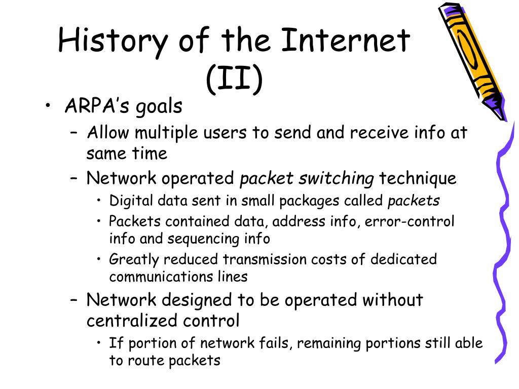 History of the Internet (II)
