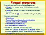 firewall resources