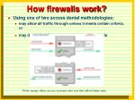 how firewalls work