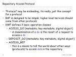 repository access protocol