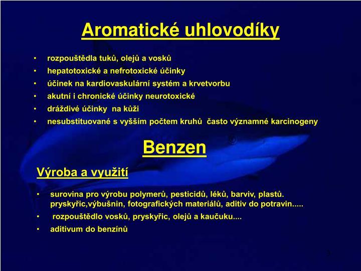 Aromatick uhlovod ky