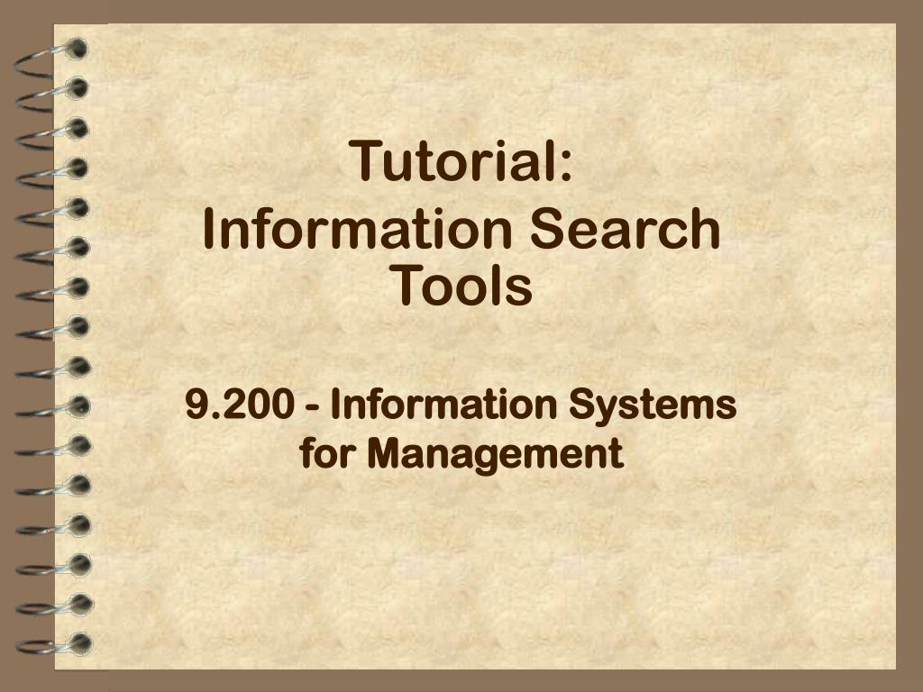 9 200 information systems for management