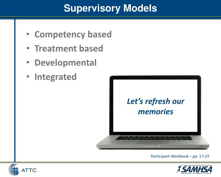 Supervisory Models