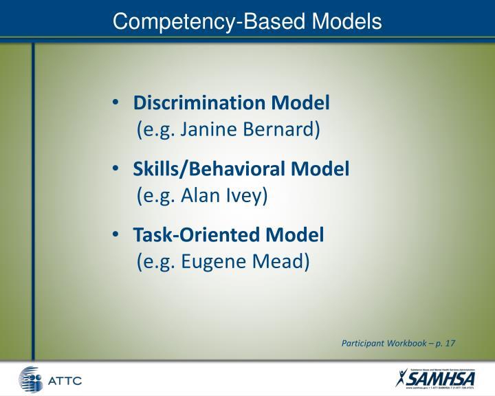Competency-Based Models