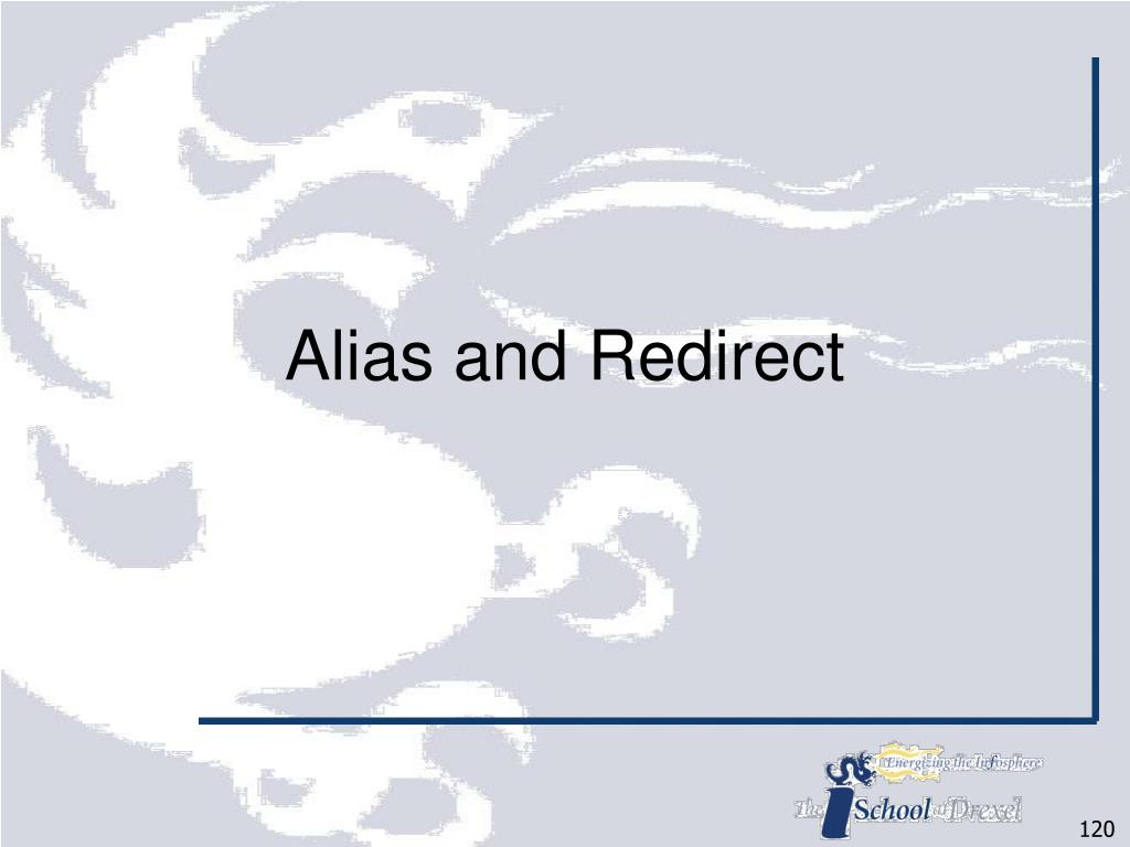 Alias and Redirect