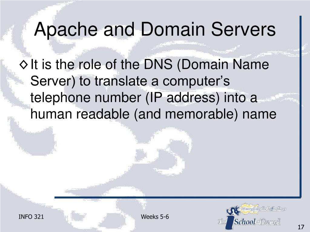 Apache and Domain Servers